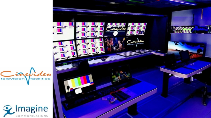 Imagine Communications' Platinum IP3 Powers Cinevideo OB Truck
