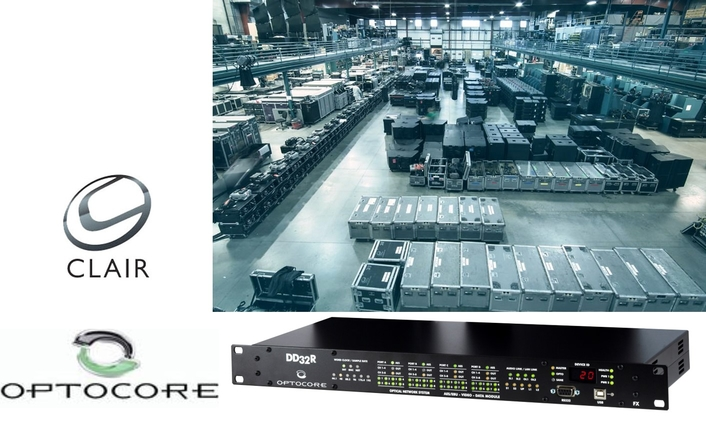 CLAIR GLOBAL INVESTS IN FURTHER OPTOCORE DEVICES