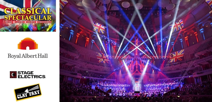 Clay Paky 'visual feast' for Classical Spectacular at London's Royal Albert Hall