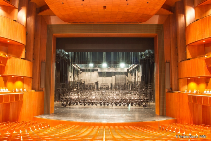 Claypaky lights selected for The New National Theatre, Tokyo