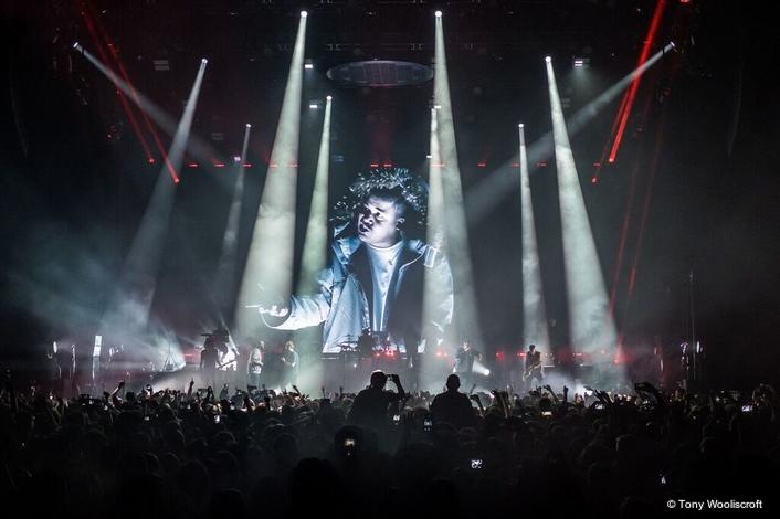 Gorillaz 'Got the Power' with Mythos2 on Humanz World Tour