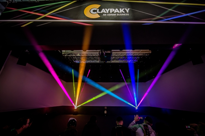 CLAYPAKY LAUNCHES THE FIRST BEAM MOVING LIGHT WITH A LASER SOURCE AT PL+S 2019, ALONG WITH SEVERAL OTHER NEW PRODUCTS