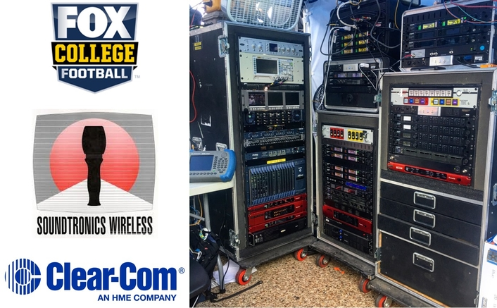 FOX Sports' College Football Pre-Game Show Relies on  Clear-Com for Flexible Wireless Communications