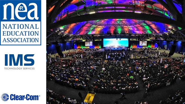 IMS TECHNOLOGY SERVICES SELECTS CLEAR-COM TO POWER NEA ANNUAL MEETING AND REPRESENTATIVE ASSEMBLY