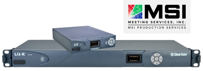 CLEAR-COM'S LQ SERIES BREATHES NEW LIFE INTO MSI ANALOG INTERCOM SYSTEMS
