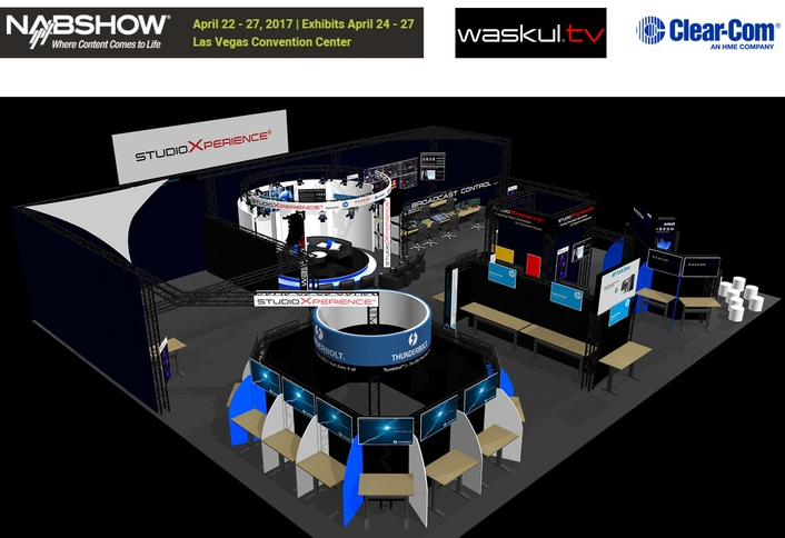 CLEAR-COM FREESPEAK II TO BE FEATURED AT STUDIOXPERIENCE VENUE DURING NAB 2017
