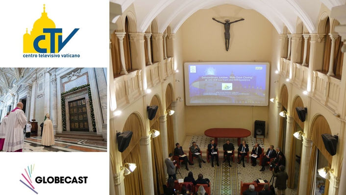 Globecast partners with Vatican Television