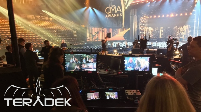 Country Music Awards Goes Wireless with Gear Seven and Teradek Bolts