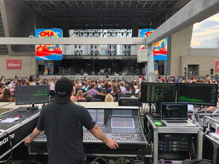 """DiGiCo Mixes the Music of """"Music City"""" for CMA Fest SD-Range and S-Series desks from Morris Light & Sound and DCR Nashville deployed on world's longest running country music festival"""