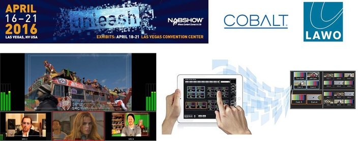 Cobalt Digital and Lawo Integrate Multiviewer Products