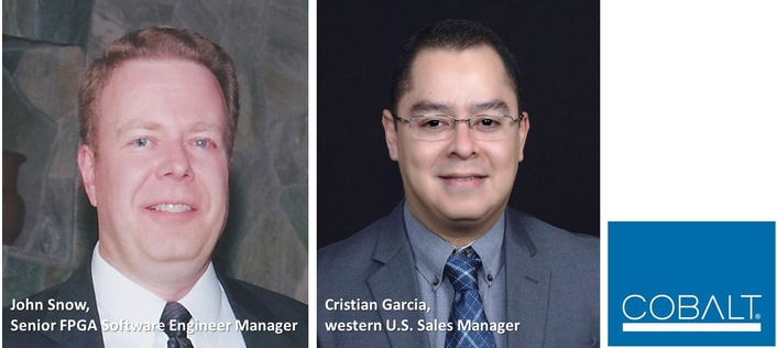 Cobalt Digital Fills Key Sales and Technical Roles With Appointment of John Snow and Cristian Garcia