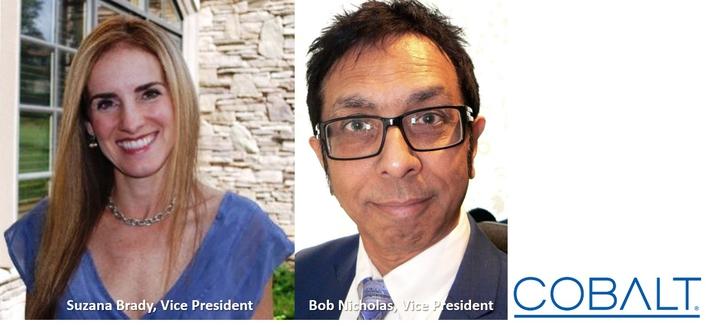 Cobalt Digital Promotes Suzana Brady and Bob Nicholas to Vice President Positions