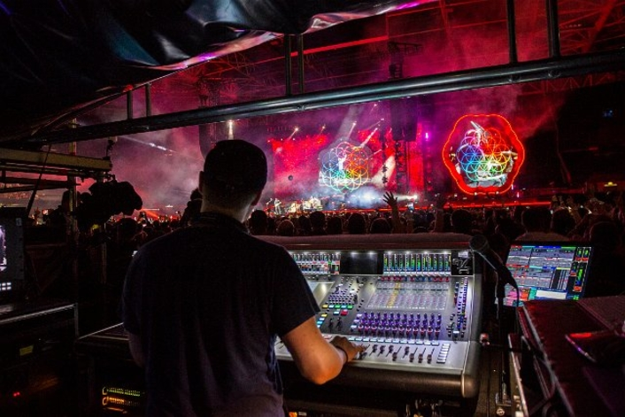 DiGiCo SD7 - the only console for Coldplay