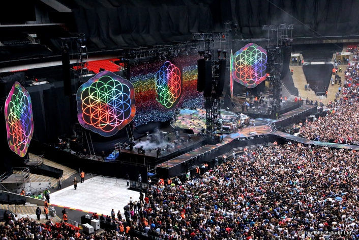 Coldplay's visuals guru chooses Avolites Ai media servers to create ultimate video system for world tour