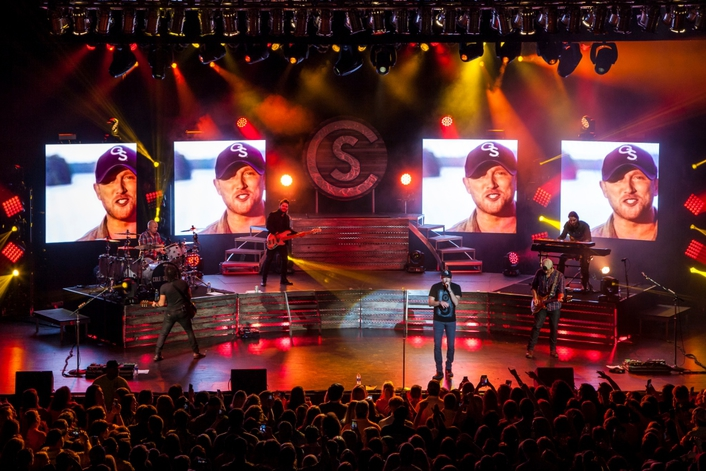 One of country music's hottest acts embarks on his first headlining arena tour with his largest production package to date to accentuate the experience of the music