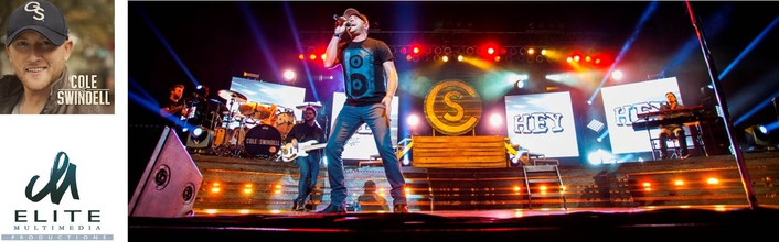 "Elite Multimedia helps bring ""Shock and Awe"" to Cole Swindell tour"