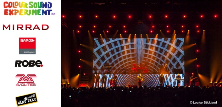 Colour Sound invests Projection Power  for UB40 tour