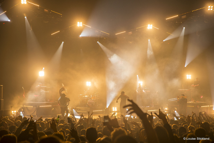 UK rental specialist Colour Sound Experiment worked closely with innovative lighting designer Francis Clegg of MIRRAD to supply a full production lighting rig for rapper Kano's recent show-stopping gig at London's Brixton Academy