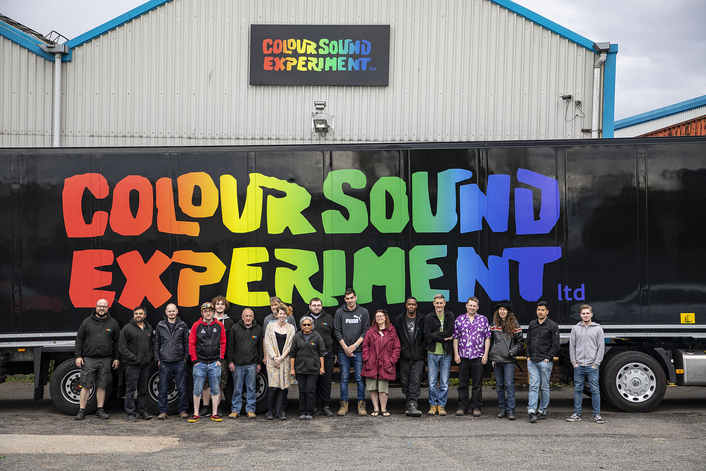 Colour Sound Keeps Rolling with  Fabulous New Truck