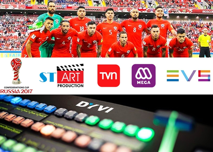Confederations cup brought to life by EVS' DYVI switcher