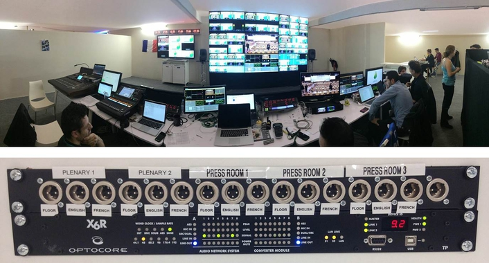 OPTOCORE PROVIDES COMMS NETWORKS FOR COP21 CLIMATE CONFERENCE
