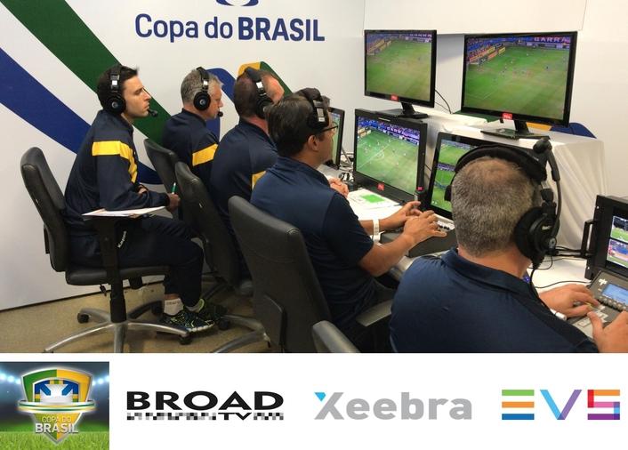 COPA DO BRASIL PLAYOFFS ENHANCED WITH XEEBRA-POWERED VAR WORKFLOW