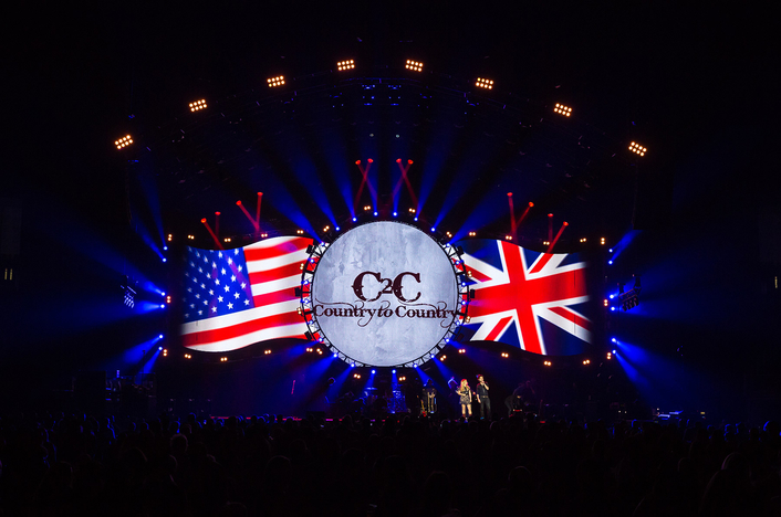 PRG XL Video Supports Mike Oates' Design for C2C: Country to Country