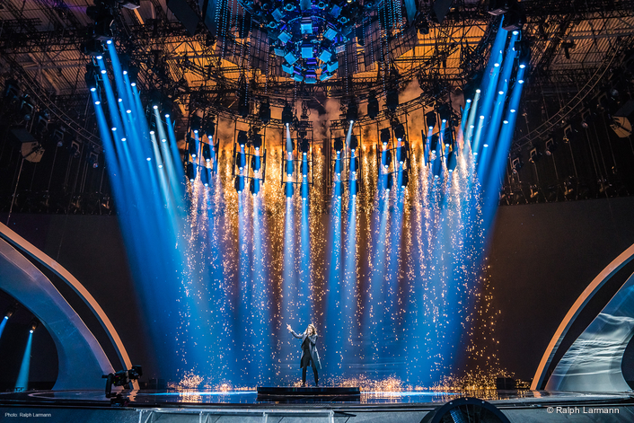 Claypaky Scenius Unico takes centre stage at Eurovision 2017