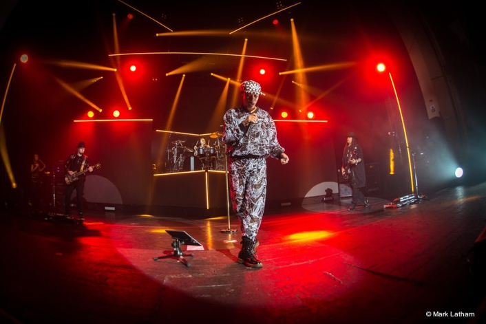 Claypaky Scenius Spot is championed as a top workhorse fixture on Skunk Anansie's European tour