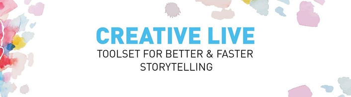 Toolset and models for better, faster live storytelling