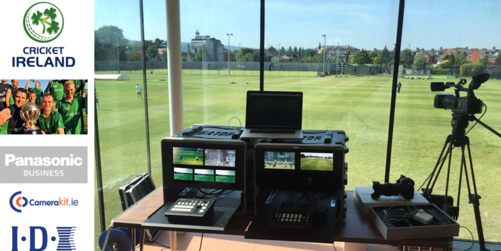 D+P Multimedia / Camerakit.ie supplies IDX System to Power Live Video Transmissions for Cricket Ireland