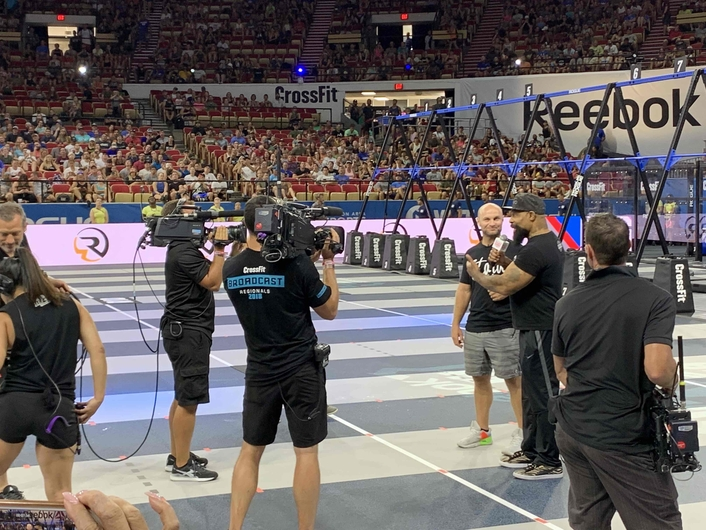CP Communications and Carr-Hughes Productions Covers Multi-Venue CrossFit Games with Hybrid Broadcast and Production System