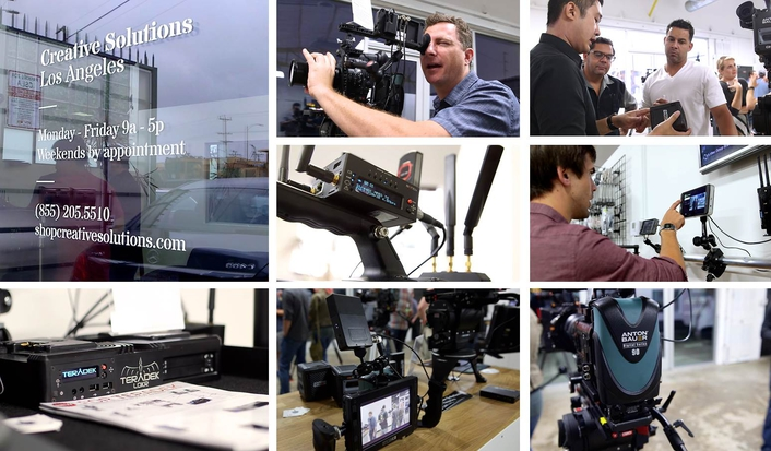Teradek, Paralinx, SmallHD Launch 'CSLA' with Grand Opening Party