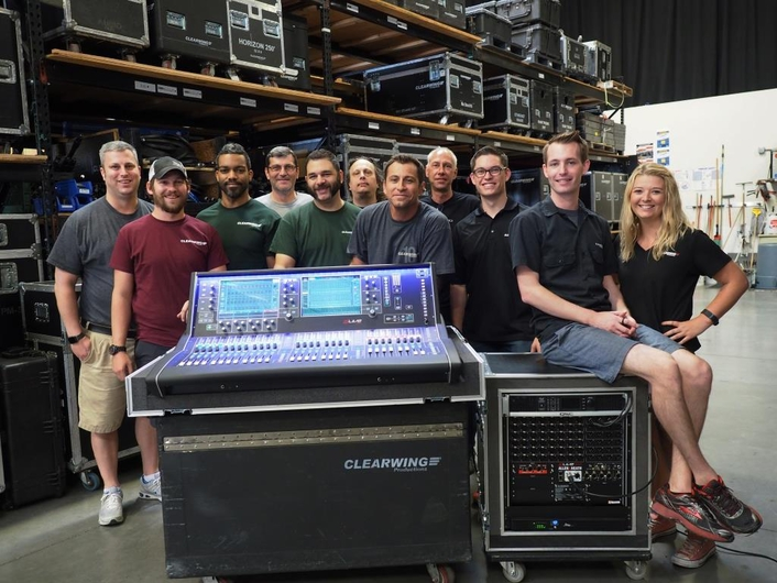 Clearwing Productions Adds Allen & Heath dLive