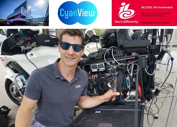 CyanView To Show Remote Camera Control Via 4G at IBC2019