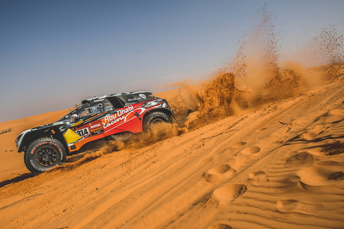 Rookie Quintero captures first Dakar stage win to go third overall