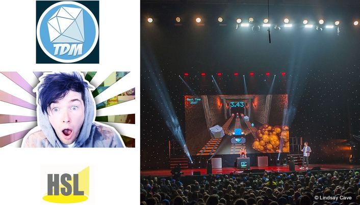 Hsl Plays The Dantdm Game Live Production Tv