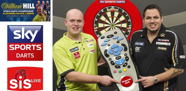SIS LIVE SECURES SKY SPORTS WORLD DARTS CONNECTIVITY