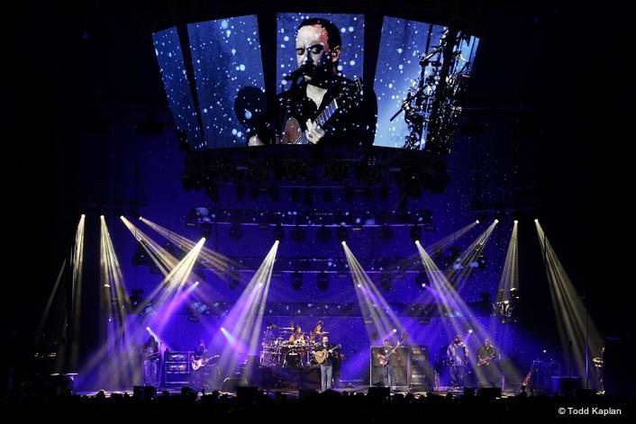 Elation Lighting for Dave Mathews Band 2016 Summer Tour