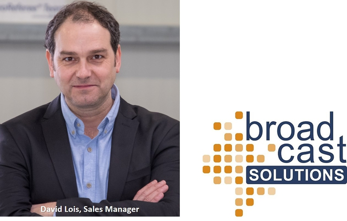 David Lois new Sales Manager Broadcast Products at Broadcast Solutions