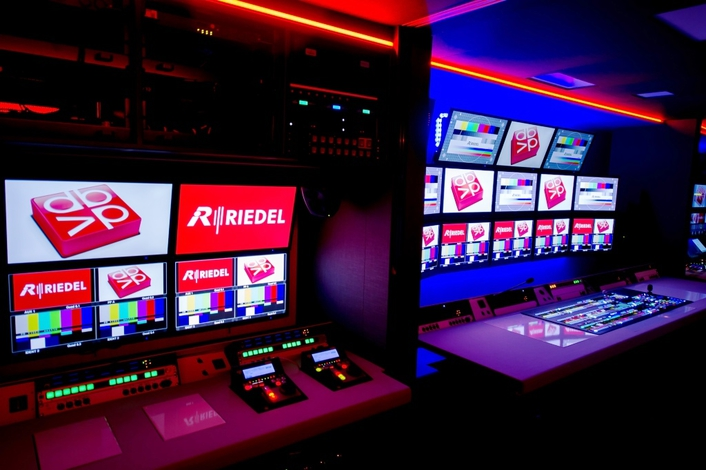 DB Video Builds Innovative OB Van on Riedel Communications' MediorNet Real-Time Media Network