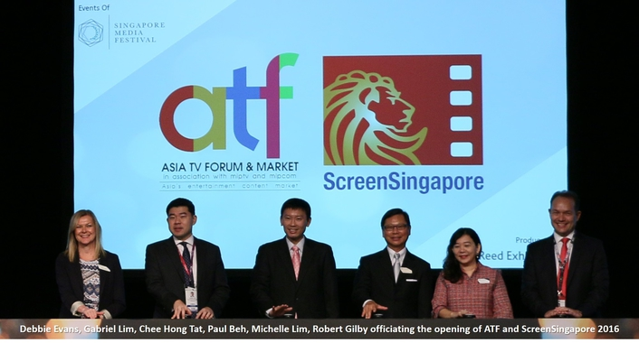 ASIA TV FORUM & MARKET AND SCREENSINGAPORE 2016 RETURNS WITH ITS LARGEST EDITION