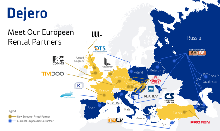 Dejero Strengthens European Network to Satisfy Growing Market Demand for Resilient Connectivity