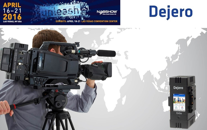 Dejero Delivers Flexible Connectivity for Live Broadcasts with LIVE+ EnGo at NAB 2016