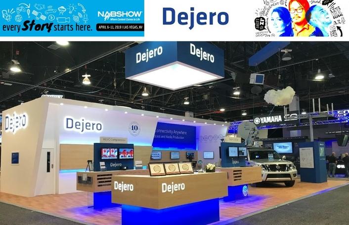Dejero to showcase latest field contribution, content distribution, and connectivity solutions at NAB2019