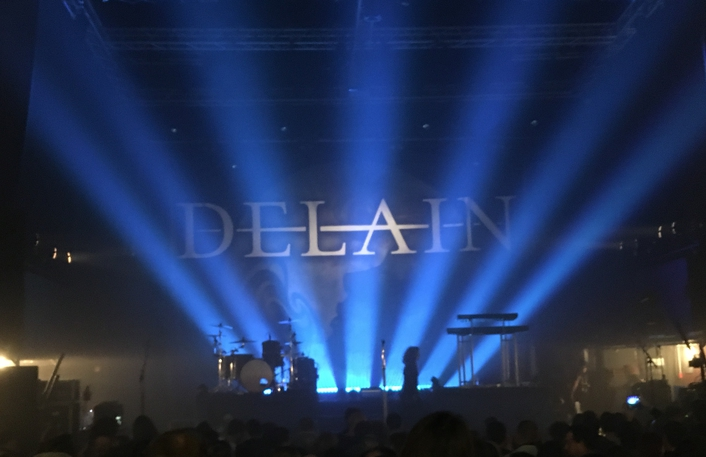"Elation ACL 360 Bar™ Effects for Delain's ""Moonbathers"" European Tour"