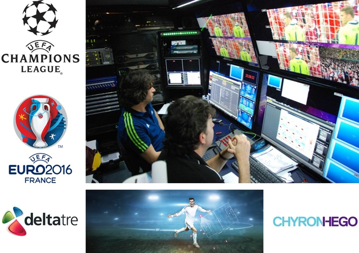 deltatre and ChyronHego partner for top football tournaments coverage