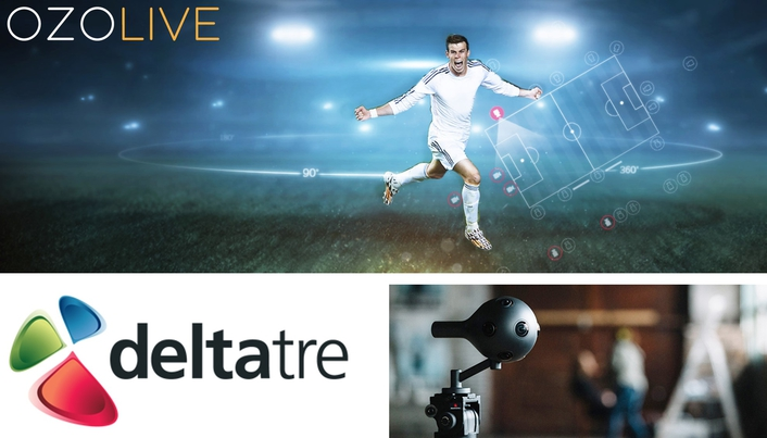 Deltatre partners with Nokia to expand VR and 360 live coverage of sport