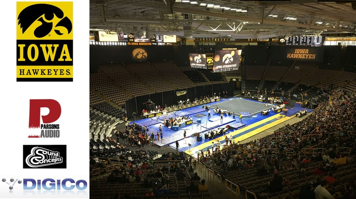 A DiGiCo S21 Gets The University of Iowa's Carver-Hawkeye Arena Ready For The Long Game