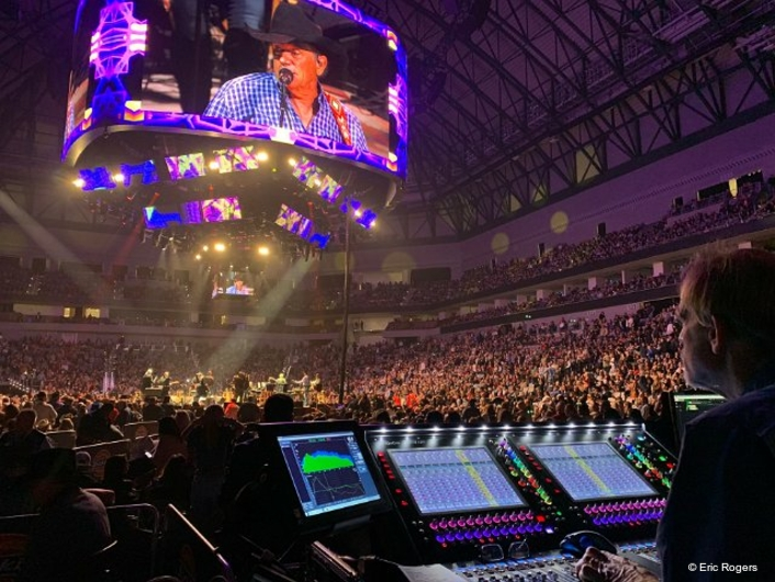 "George Strait Checks ""Yes"" For A DiGiCo SD12 96 FOH Console"